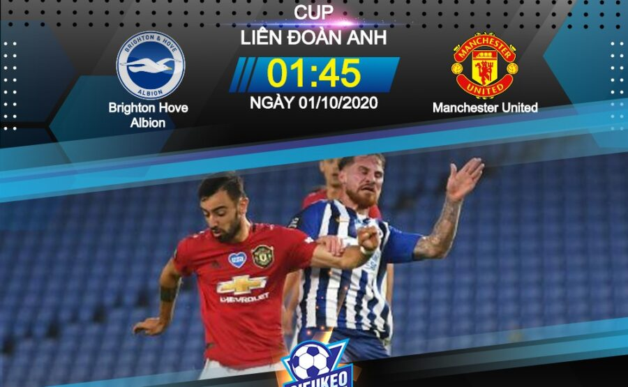 Video Clip Highlights: Brighton vs Manchester United – CARABAO CUP – ANH 20-21