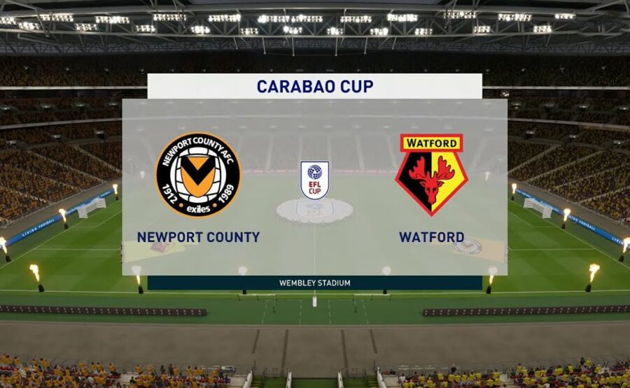 Video Clip Highlights: Newport County vs Watford – LEAGUE CUP – ANH 20-21
